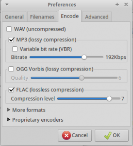AudioFormats_encoding screen