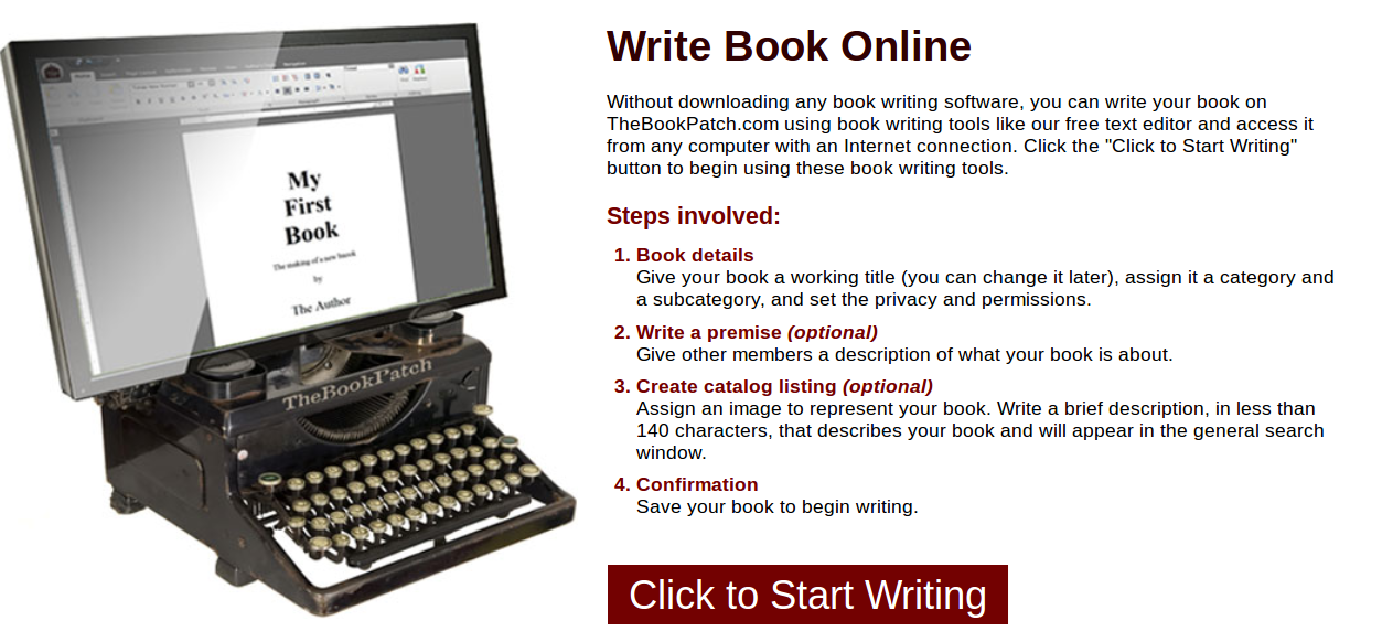 online book writing software Whether you're a teacher, photographer or hobbyist, share your expertise create & self publish your book today.