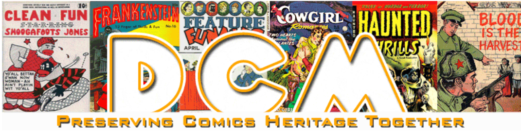 Comic Books Plus and the Digital Comic Museum are both excellent sources  for comic books in the public domain.